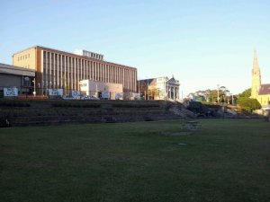 Ghastly piece of Civic Park