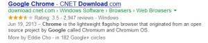Google chrome CNET