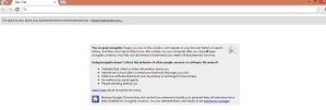 google chrome incognito window